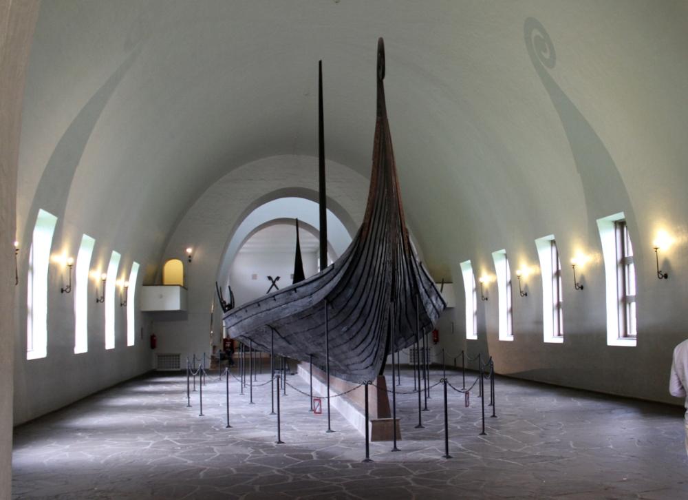 Oseberg Ship - Front
