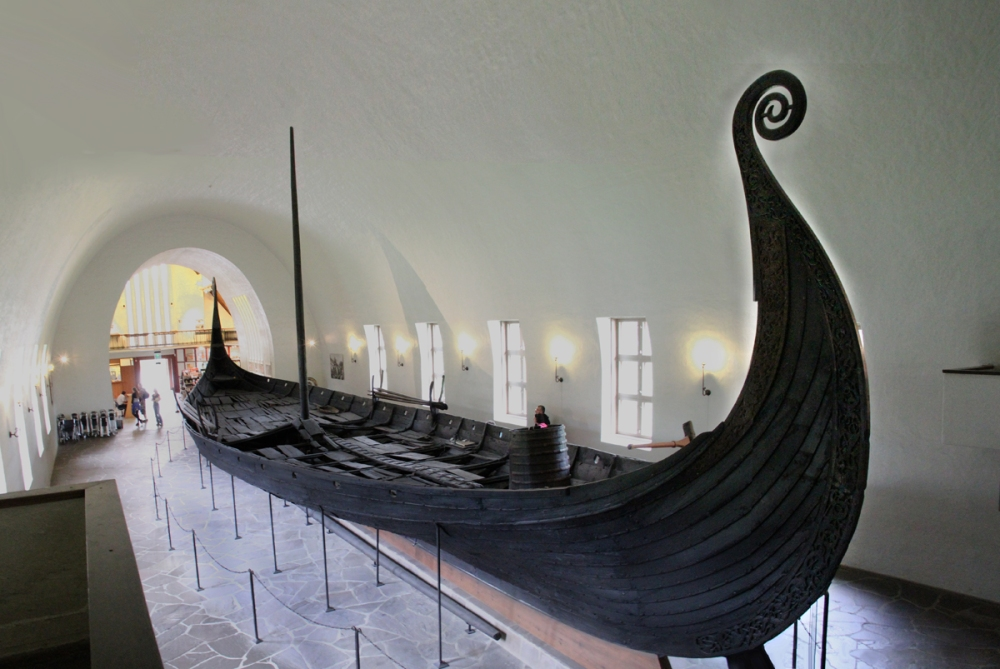 Oseberg Ship - Side View