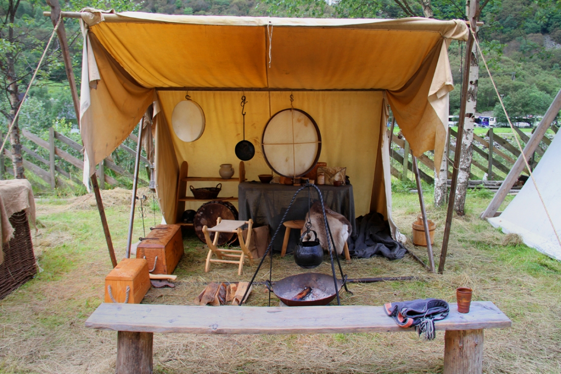 The Drummers Tent