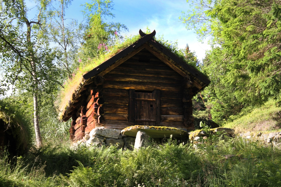 Sod Roofs are Very Common in Norway