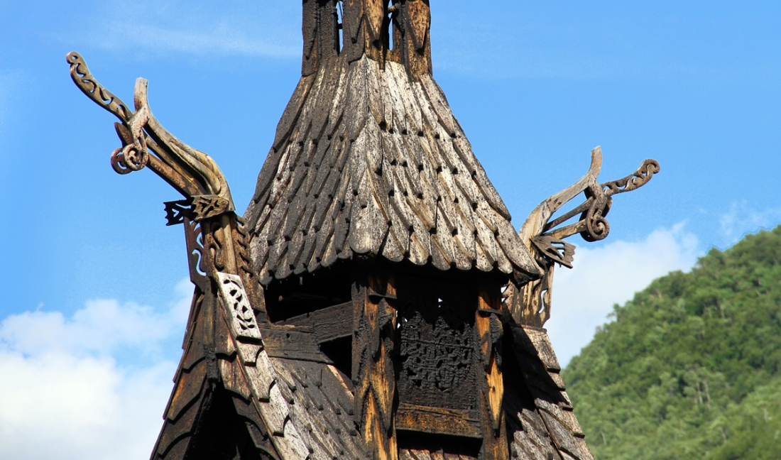Borgund Stave Church - Dragon Carvings