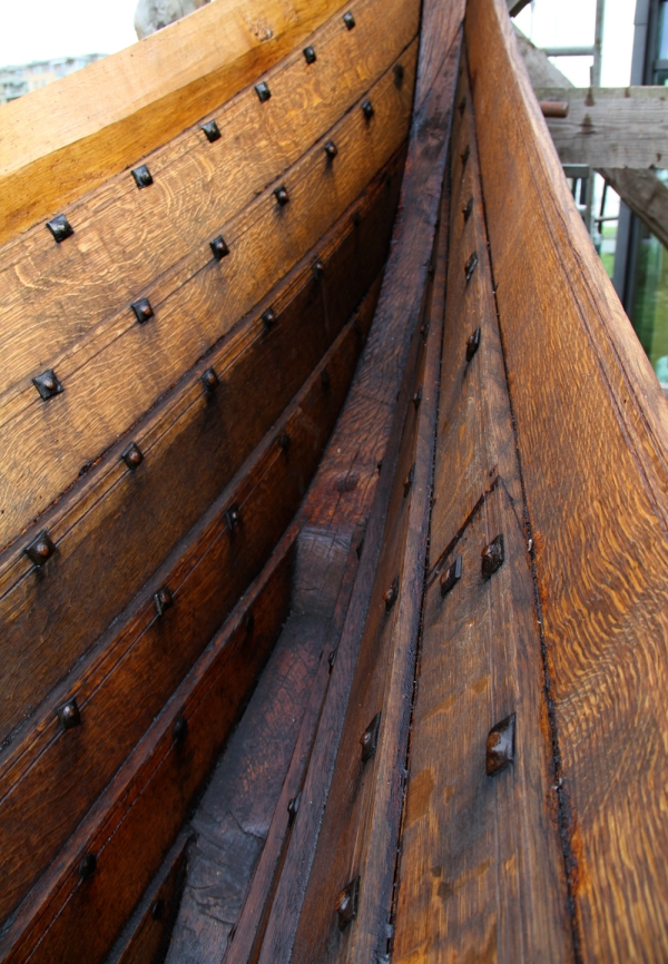 Longboat Bow Detail