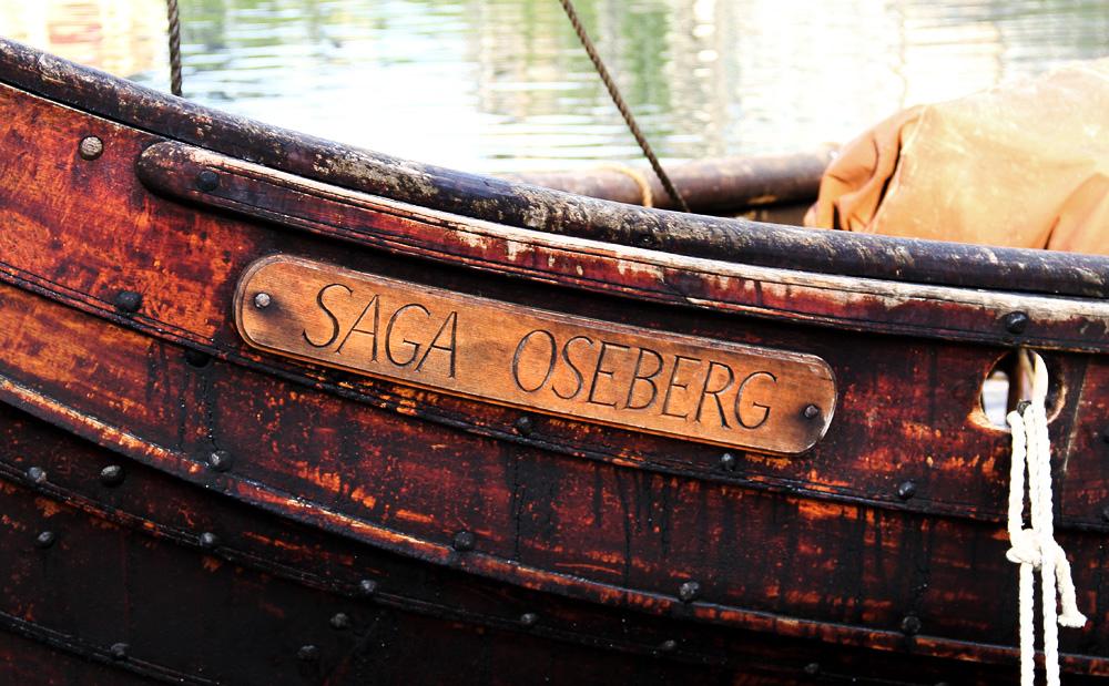 Saga Oseberg Plate